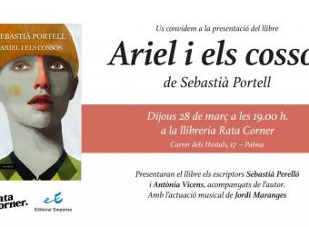 La librería Rata Corner acoge la presentación de la novela 'Ariel i els cossos'