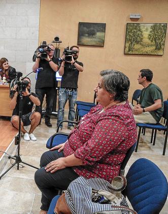 Montse Seijas, en el juicio por su expulsión.