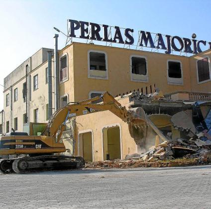 El solar de Majórica acogió la fabricación de perlas desde 1872 hasta el 2006, año en que se ejecutó el derribo de las edificaciones.