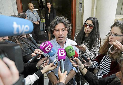 Jaume Garau, exjefe de campaña de Més, en una imagen de archivo en los juzgados de Palma.