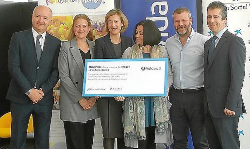 El concesionario ha donado 10.000 euros a la Fundación Nemo.