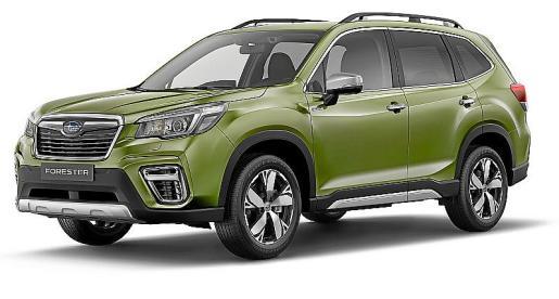 Forester: 5ª generación del modelo de más éxito de Subaru.