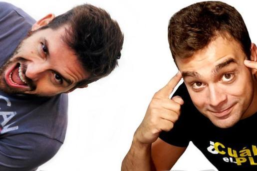 Jaime Gili (izquierda) y Ruben García (derecha) ofrecen un divertido monólogo en La Movida.