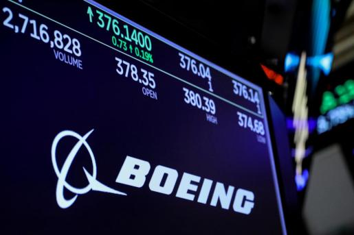 Logo de Boeing.
