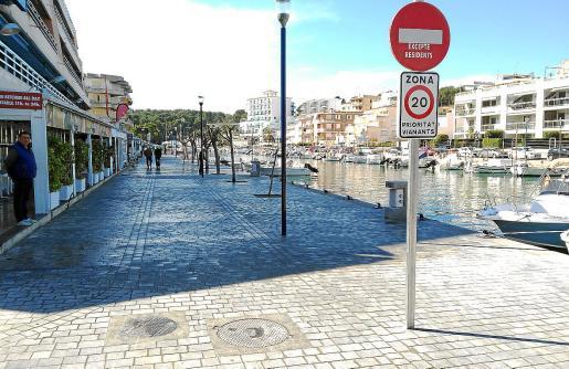 En Porto Cristo, en la zona del Riuet, se han llevado a cabo obras de embellecimiento.