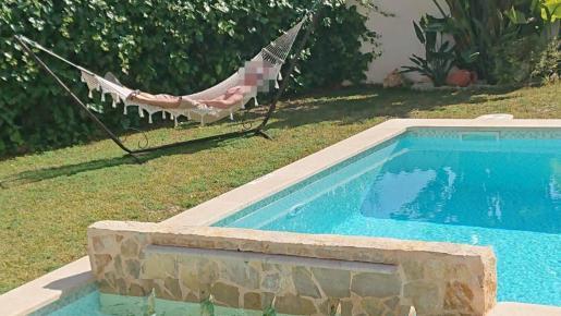 El fabricante de bombas detenido en Peguera, en la vivienda que ocupaba en Mallorca en el momento de su detención.