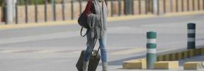 María José Suárez, detenida en el aeropuerto de Madrid