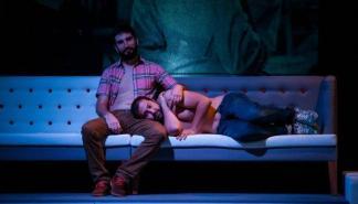 La obra 'Smiley, una història d'amor' en el Teatre de Lloseta
