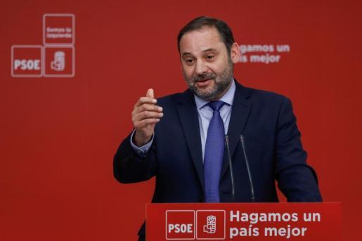 José Luís Ábalos es secretario de Organización del PSOE y ministro de Fomento.
