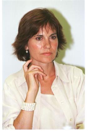 Concha García Campoy, en una imagen tomada en Palmanova.