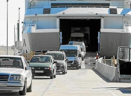 Control de coches en Formentera