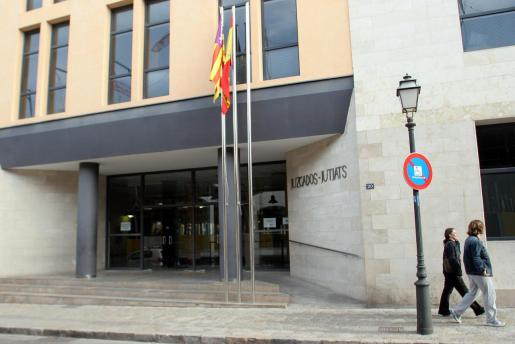 Imagen de archivo de los juzgados de sa Gerreria en Palma.