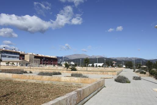 Vista general de las instalaciones del parc de Can Cirera Prim.