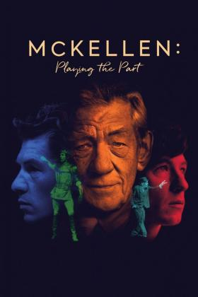 Cartel del documental sobre el actor Ian McKellen.