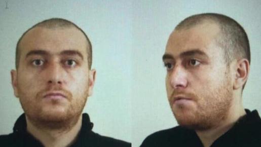 Imagen de la ficha policial del principal sospechoso del atentado de Utrecht.