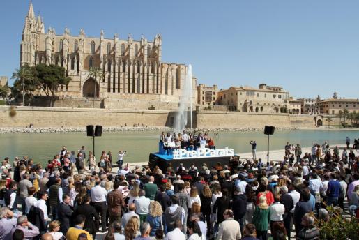 Acto del Partido Popular en Palma.