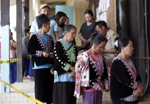 Jornada electoral en Tailandia.