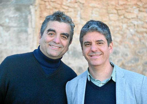 Los autores Antoni Pizà y Francesc Vicens. Foto: ANTONI J. ESCANELLAS