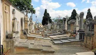 Recorrido en Palma 'Al cementerio de día' de la mano de Carlos Garrido