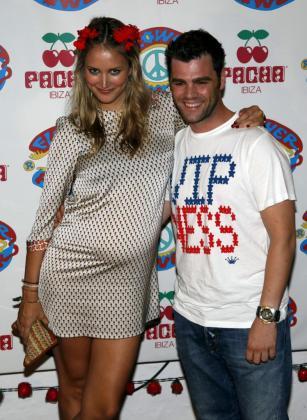 Fonsi Nieto y Alba Carillo el pasado verano en Pacha Ibiza.
