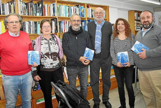Bartomeu Bosch, Sili Arguimbau, Joan Font, Joan Perelló, Carme Vidal y Gracià Sánchez.