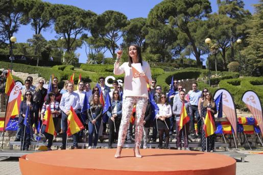 La cabeza de lista de Ciudadanos por Barcelona al Congreso, Inés Arrimadas.