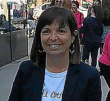 Catalina Riera, alcaldesa y candidata del PI.
