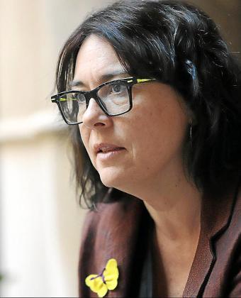 La candidata de Esquerra Diana Riba.