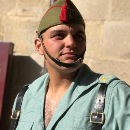 El legionario fallecido, Alejandro Jiménez Cruz.