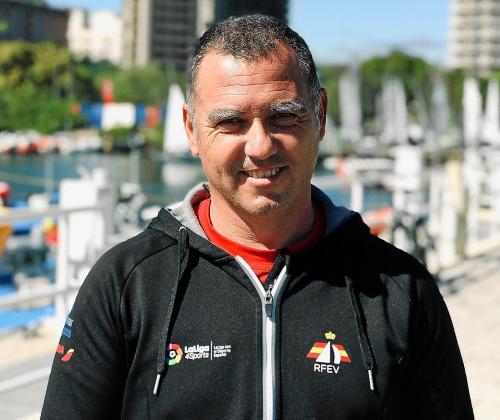 Asier Fernández de Bobadilla, director de Preparación Olímpica de la Real Federación Española de Vela.