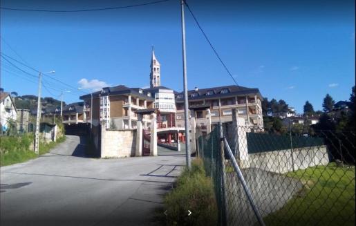 Imagen de la residencia en la que ha tenido lugar el suceso.