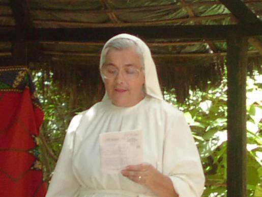 Sor María Juliana Calvo.