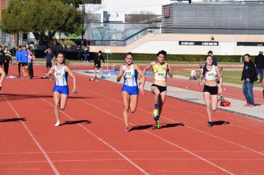 Imagen de una reciente competición de atletismo en Príncipes de España.