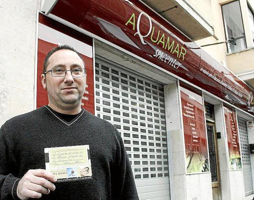 Pedro Amengual se quedó sin masaje y sin dinero.