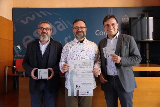 Rafael M. Creus, Francesc Blanco y Francesc Miralles.