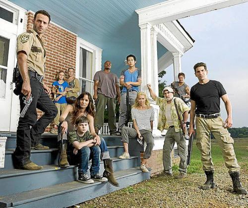 Imagen de los protagonistas de 'The Walking Dead'.