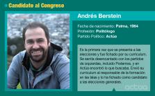 Andrés Berstein es el candidato de Actúa al Congreso por Baleares.
