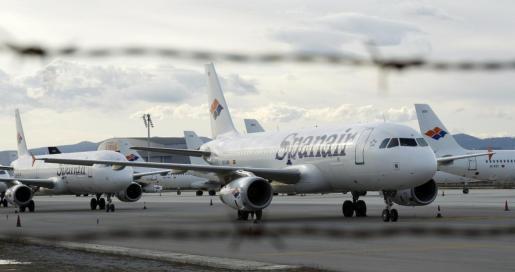 Aviones de Spanair.