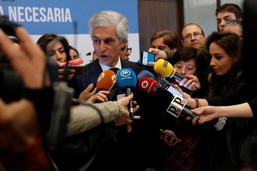 Adolfo Suárez Illana, el pasado lunes en el espacio de foros 'La España necesaria'.