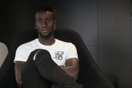 Lago Junior, futbolista marfileño del Real Mallorca.