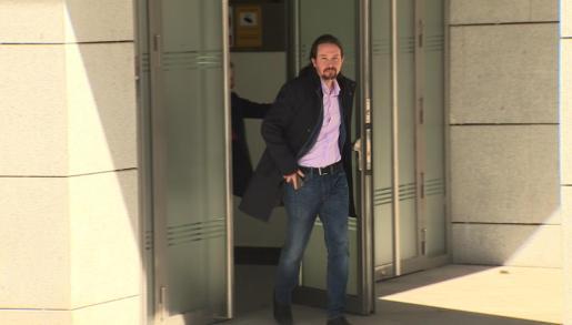 Pablo Iglesias se persona en la Audiencia Nacional como perjudicado en el caso Villarejo por sustracción de un móvil.