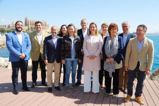Presentación de los candidatos del PP al Congreso y al Senado por Baleares.