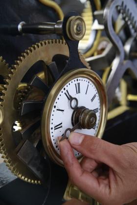 Imagen de archivo de un reloj de Montuiri.