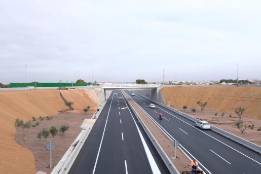 Vista de la infraestructura viaria ya en funcionamiento.