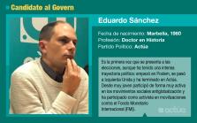 Eduardo Sánchez, el candidato de Actúa que quiere atraer a los descontentos de izquierda