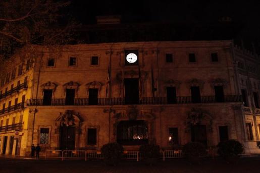 Imagen del Ajuntament de Palma en una anterior Hora del Planeta.