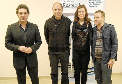 Jaume Anglada, Toni Pastor, Marta Elka y Toni Santos.