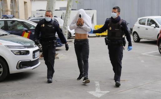El detenido ha pasado a disposición judicial este lunes en Palma.