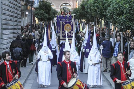 Procesión del Estendards en Palma.