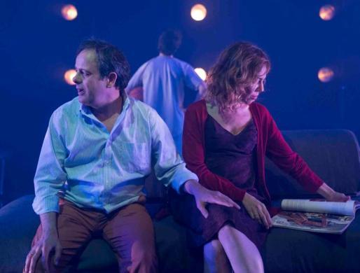Un instante de la función, producida por la Sala Beckett de Barcelona.